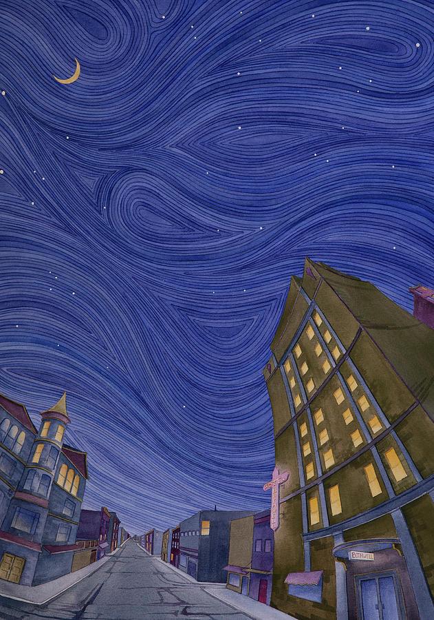 Impressions of Sedalia Nocturne by Scott Kirby
