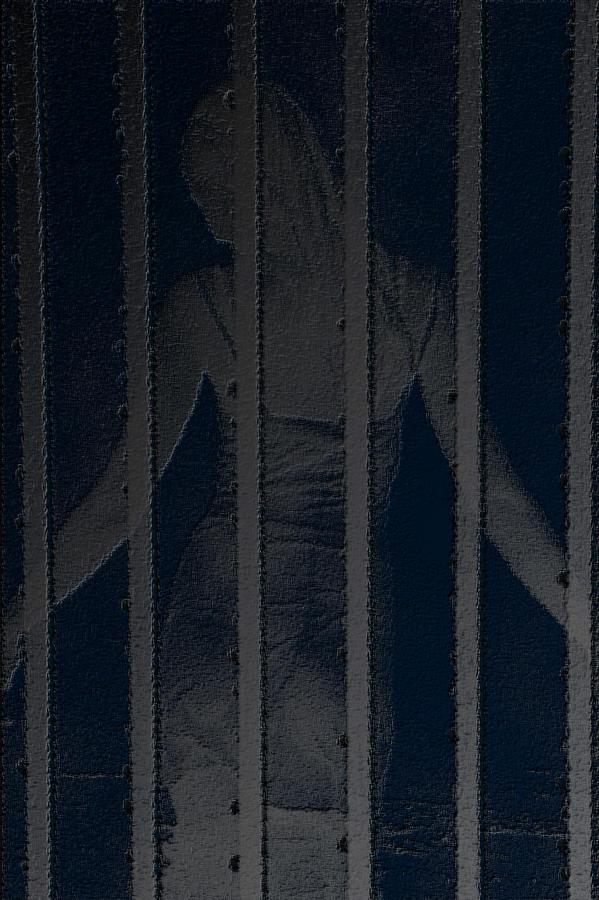Woman Digital Art - Imprisoned Beauty  by Manjot Singh Sachdeva