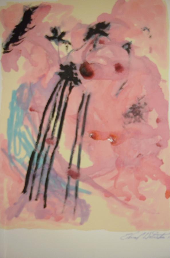 Improvisation Painting - Improvisation 26 by Edward Wolverton