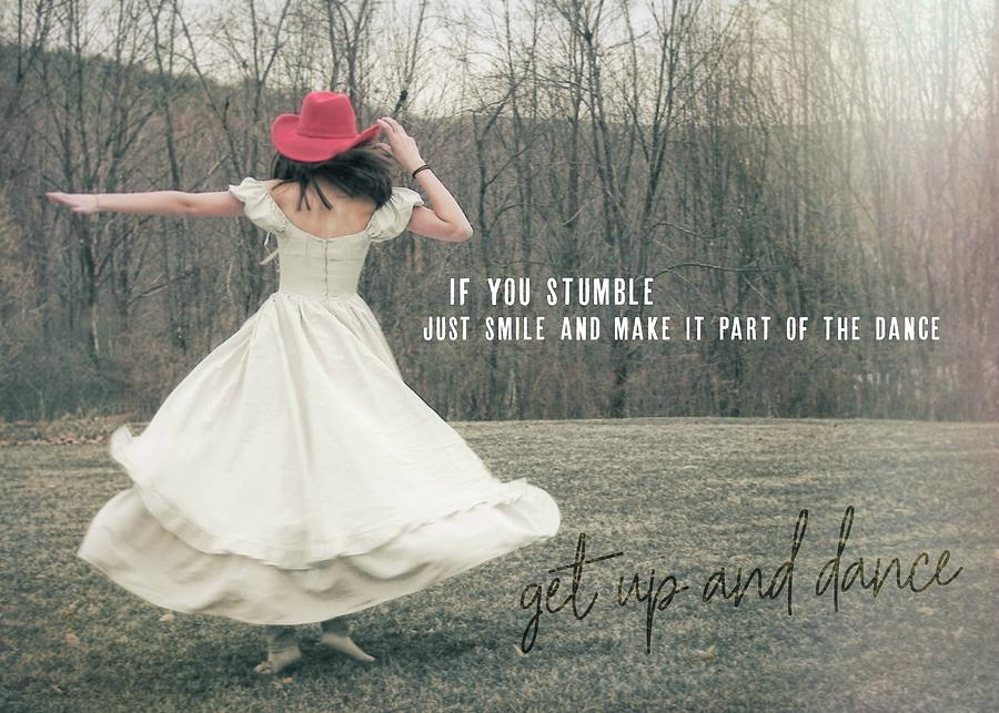 Model Photograph - Improvise Quote by JAMART Photography