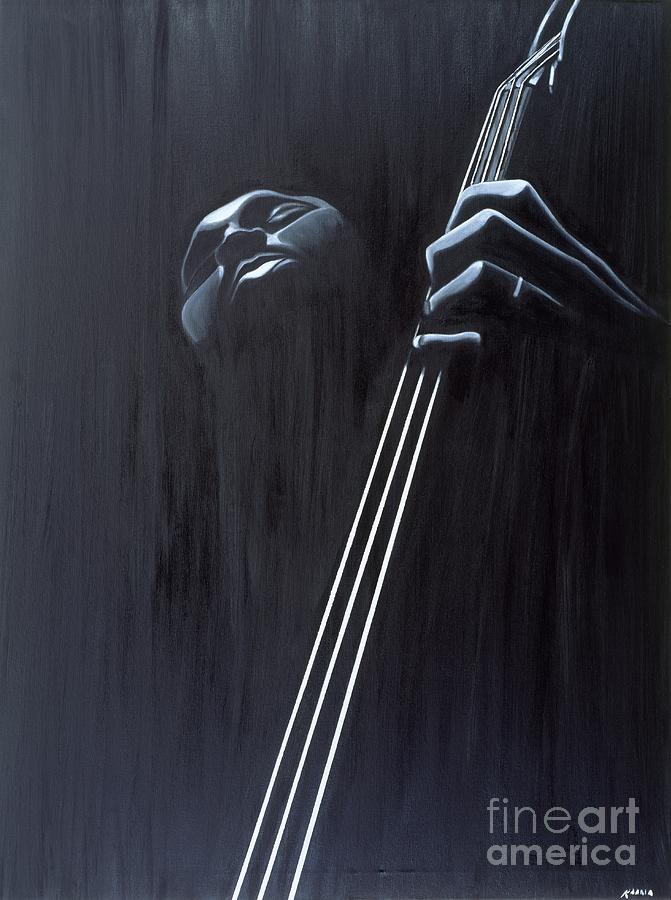In A Groove Painting - In A Groove by Kaaria Mucherera