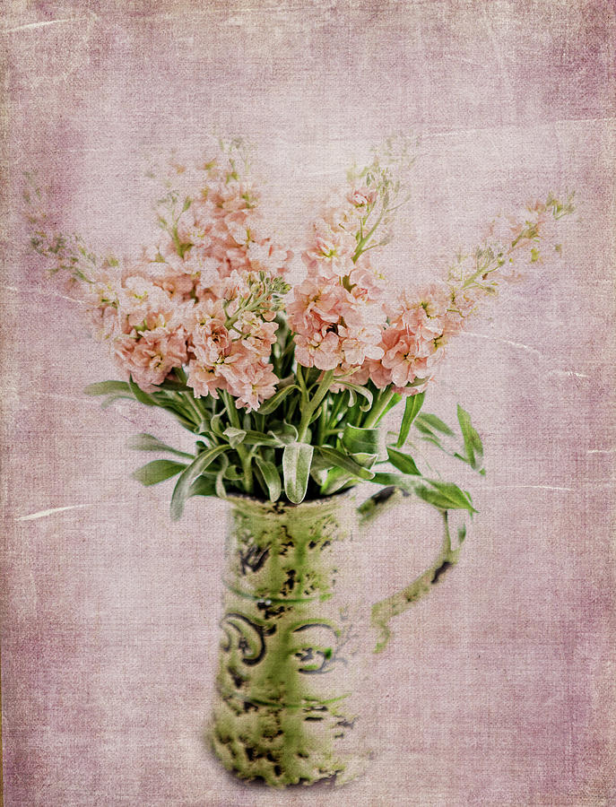 Flowers Photograph - In A Vase by Rebecca Cozart