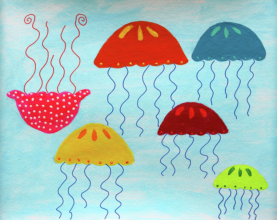 In a Sea of Jellyfish it's Okay to be Different by Deborah Boyd