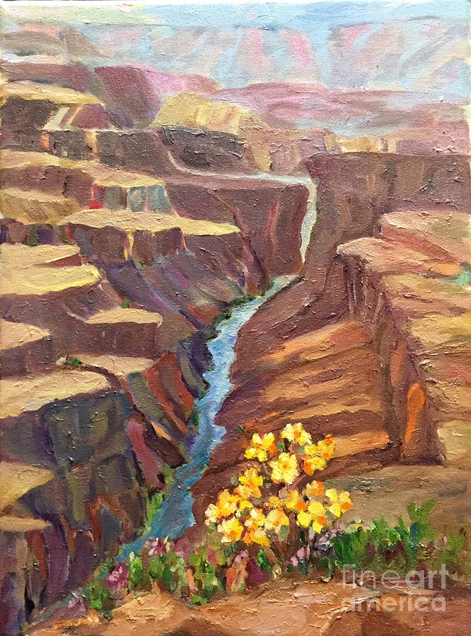 Grand Canyon Painting - In All Gods Glory by Patsy Walton