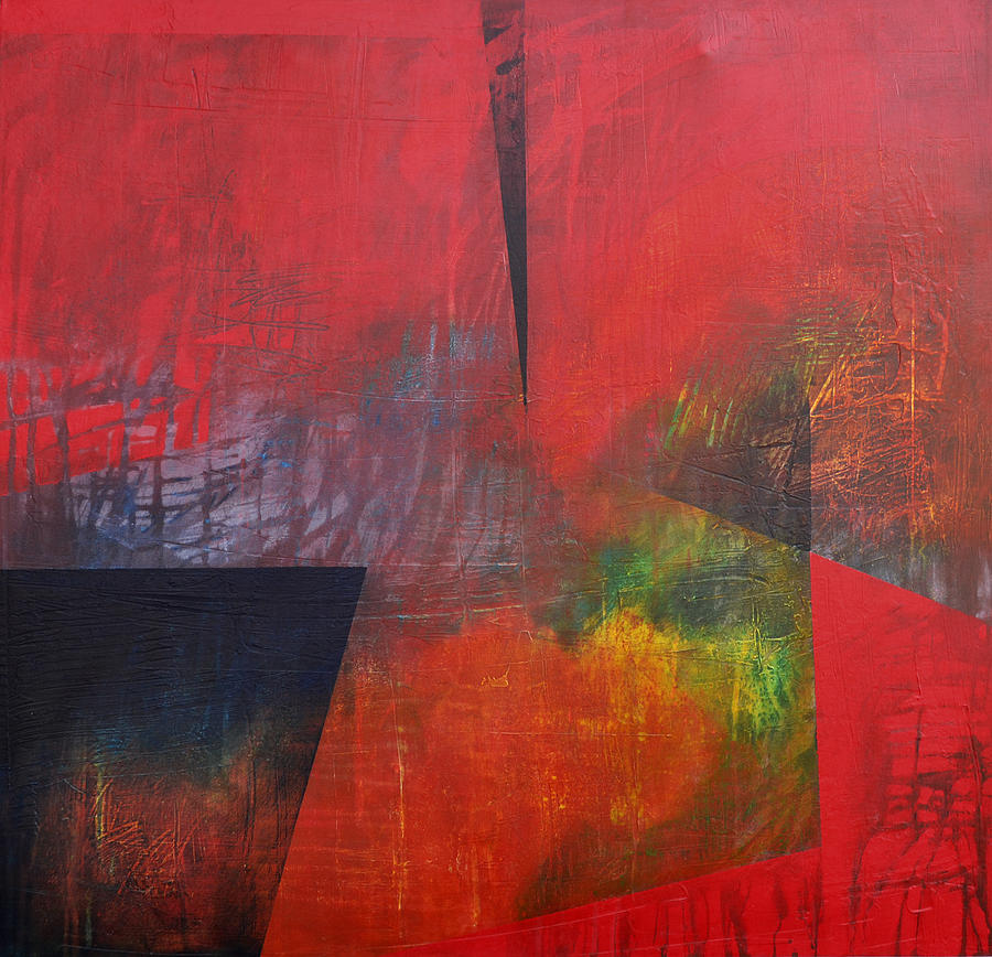 Abstract Painting Painting - In Between by Filomena Booth