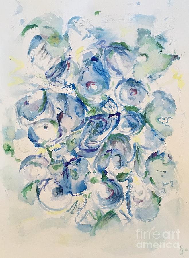 In Blue Painting