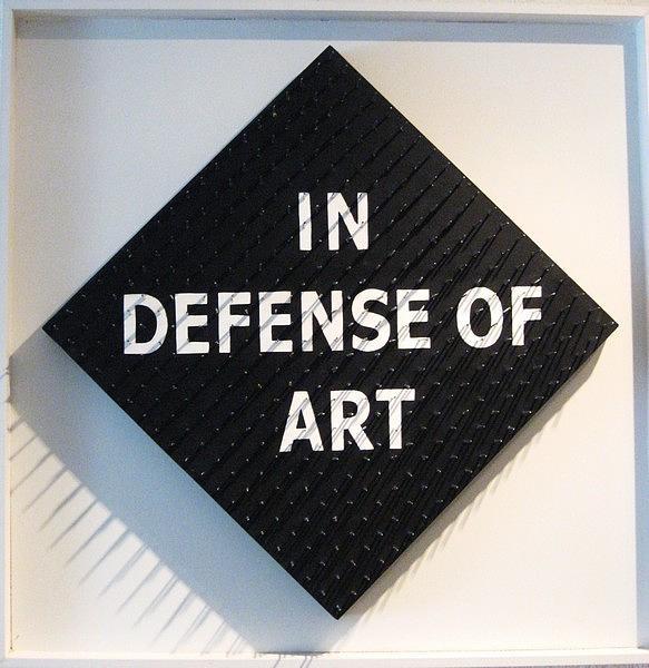 Objects Mixed Media - In Defense Of Art by Ljiljana Mihaljevic