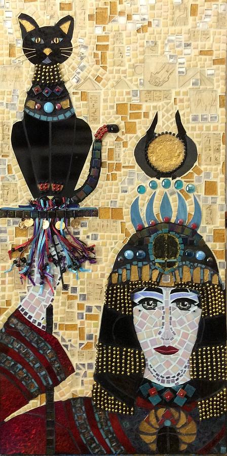 Global Mixed Media - In Dreams Of Ricky Bobbie And Me In Egypt by Anje Olmstead