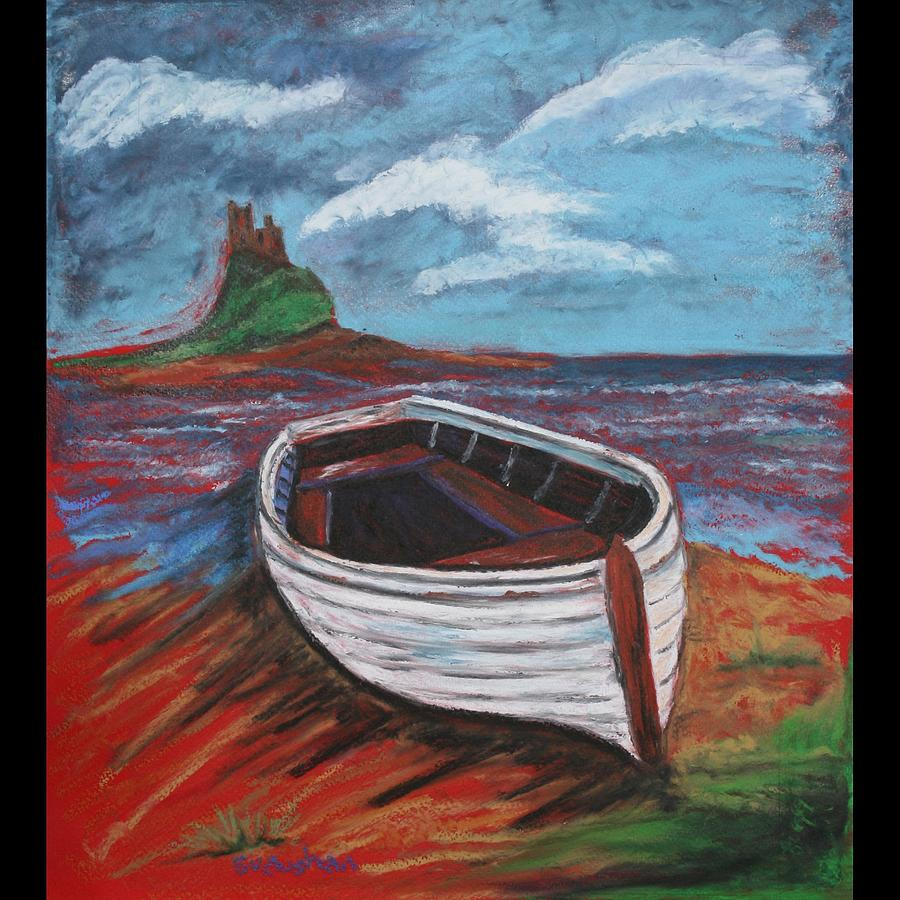 Boat Painting - In For The Night by Susan Vaughan
