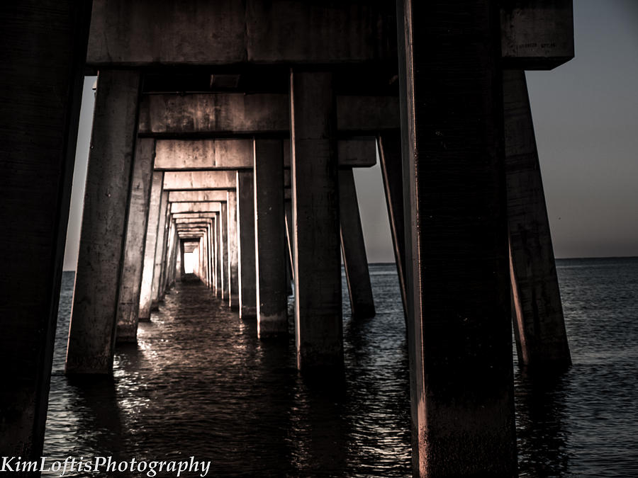 Beach Photograph - In From The Darkness  by Kim Loftis