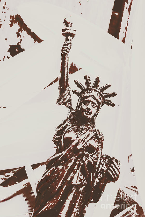 New York Photograph - In Liberty Of New York by Jorgo Photography - Wall Art Gallery