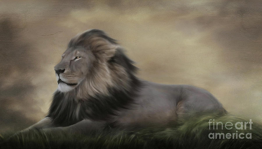 Cecil Painting - In Loving Memory Of Cecil by Lynn Jackson