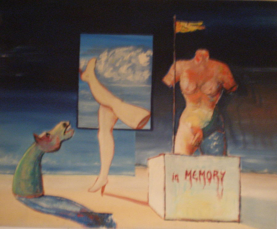 Painting Painting - In Memory by Jan Paulus-maly