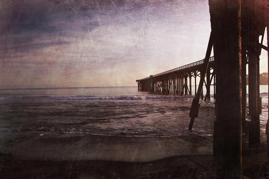 Pier Photograph - In My Dreams Im Always With You by Laurie Search