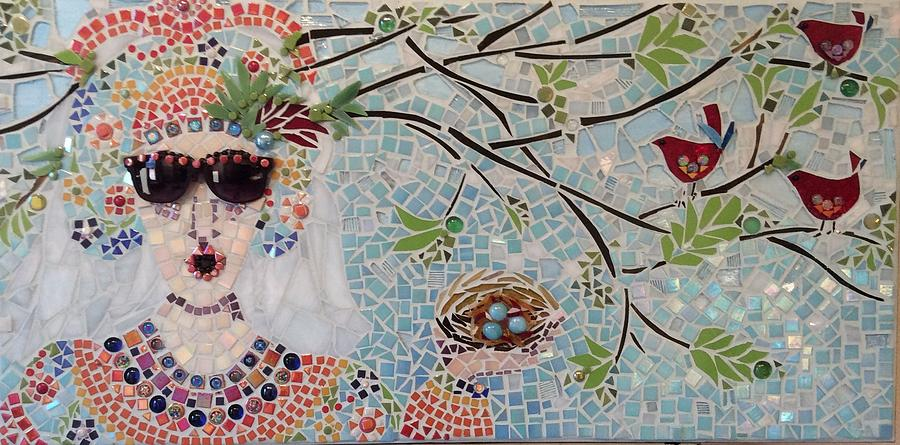 Sunglasses Mixed Media - In My Dreams Of Hungary by Anje Olmstead