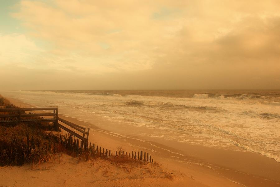 Jersey Shore Photograph - In My Dreams The Ocean Sings - Jersey Shore by Angie Tirado