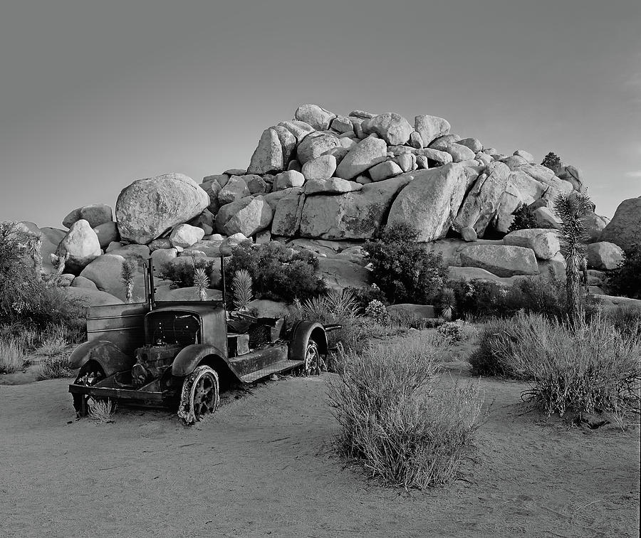 In Need Of A Tow - B and W by Paul Breitkreuz