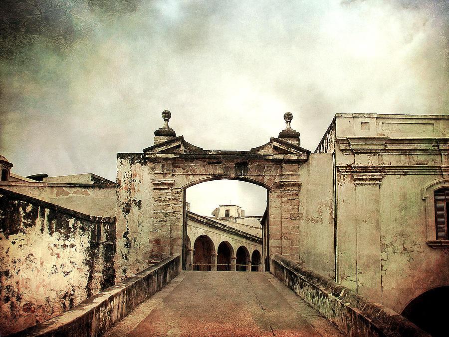 Old San Juan. San Juan Photograph - In Old San Juan by Julie Palencia