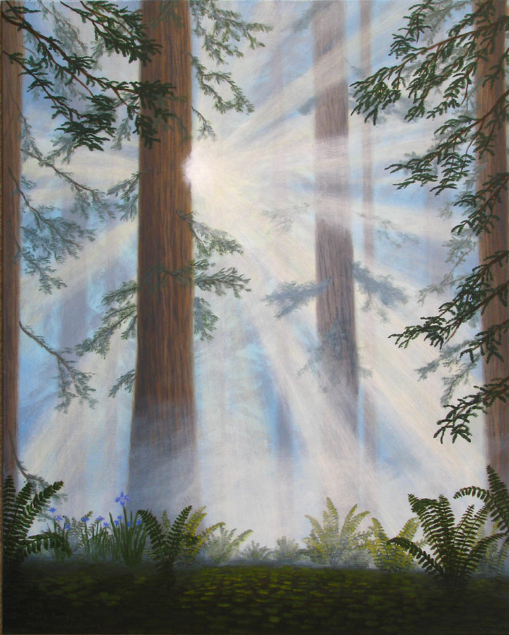 Forest Painting - In Paradisum II by Mark Junge