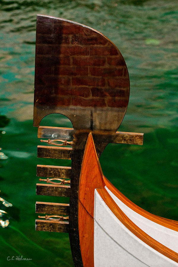 Boat Photograph - In Reflection by Christopher Holmes