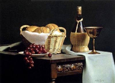 Still Life Painting - In Remembrance Of Me by Keith Murray