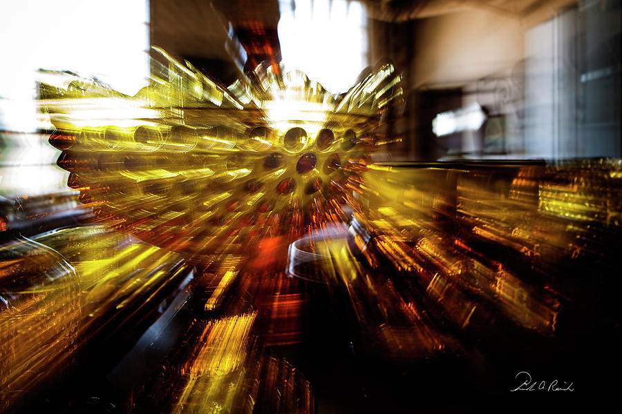 Glass Photograph - Searching For The Grail 2 by Frederic A Reinecke