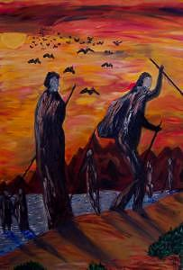 In Search Of The Truth Painting by Ira Stark