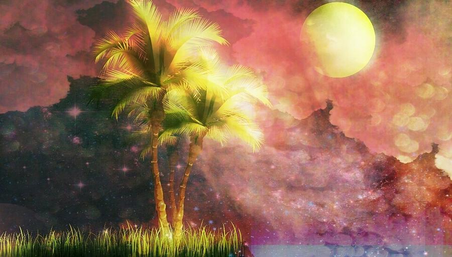 Mobile Digital Art - In Silhouette by Eddie G