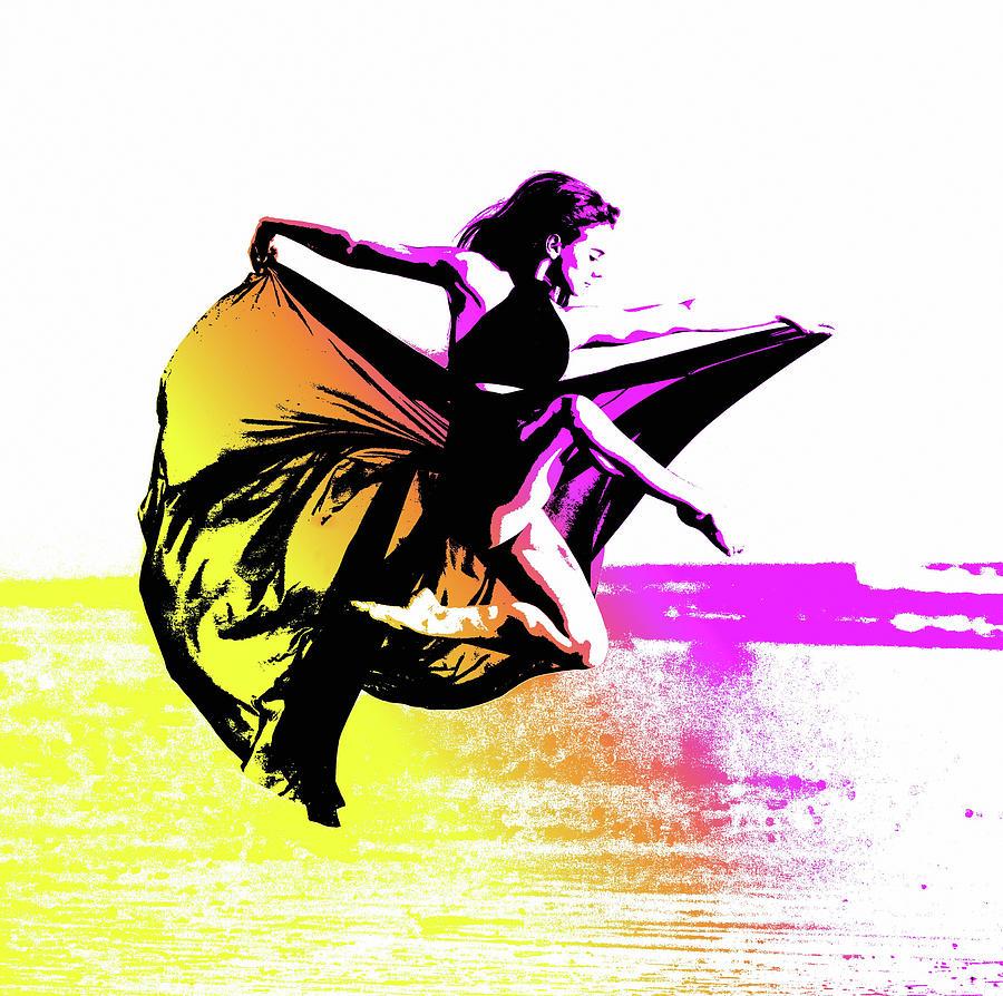 Ballet Dancer Photograph - In Strength, Beauty Il by Susan Maxwell Schmidt