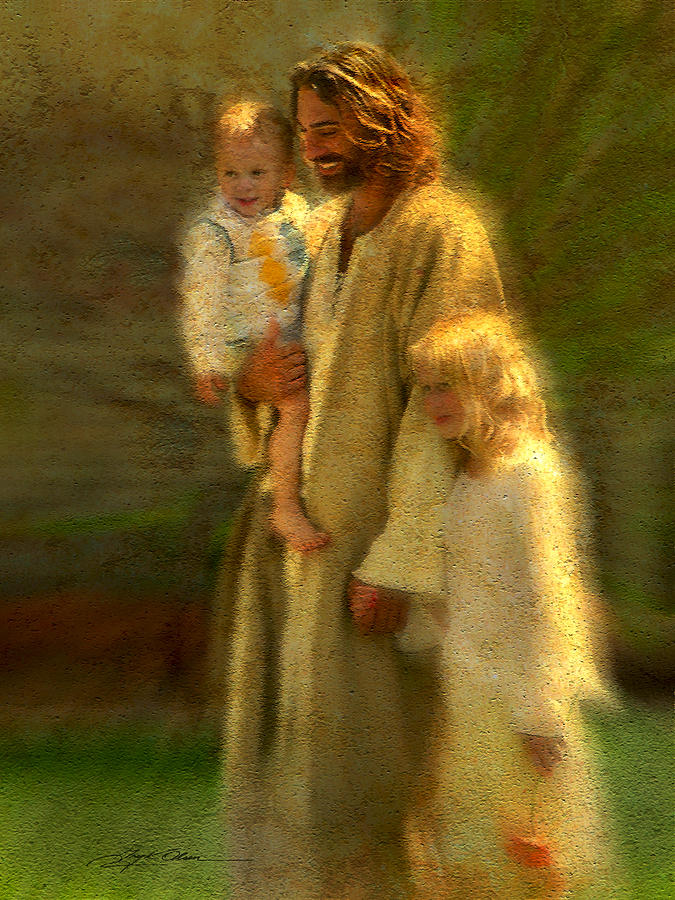 Jesus Painting - In the Arms of His Love by Greg Olsen
