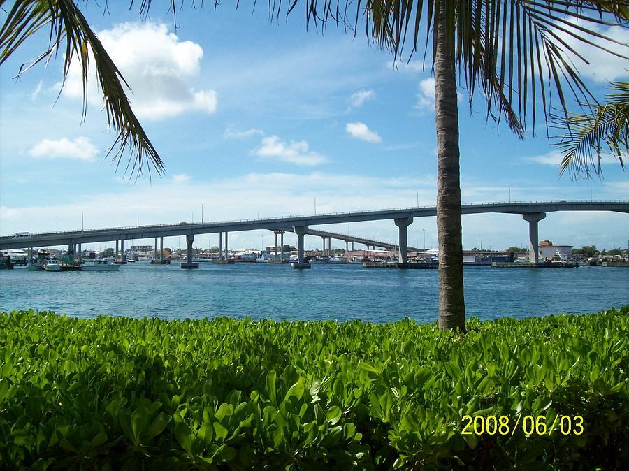 Bridges Photograph - In The Bahamas by Rishanna Finney