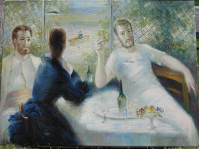 In The Bar Painting by Duncan Roseme