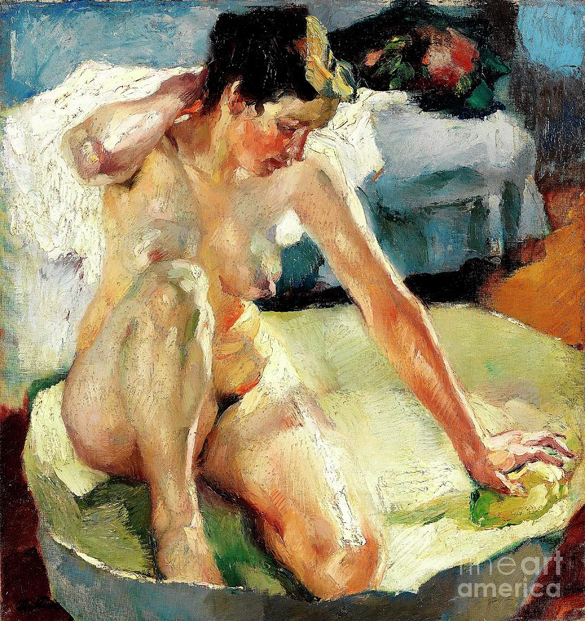 In The Bath Painting
