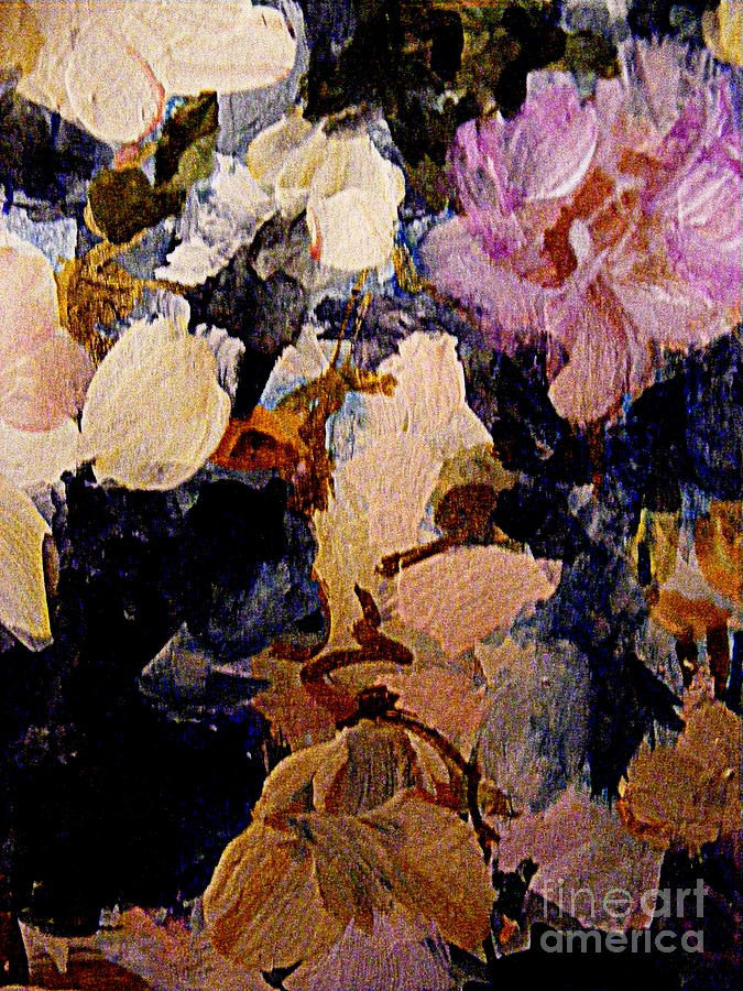 In the company of flowers painting by nancy kane chapman pink white painting in the company of flowers by nancy kane chapman mightylinksfo