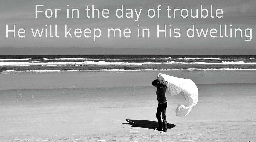 Bible Photograph - In The Day Of Trouble by Laura Ogrodnik