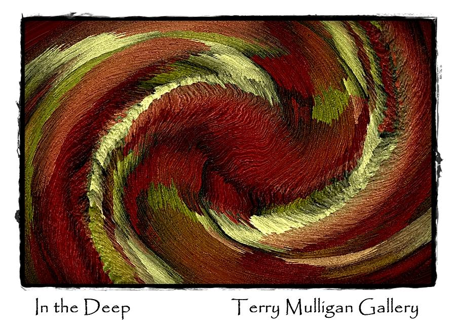 Red Digital Art - In The Deep by Terry Mulligan