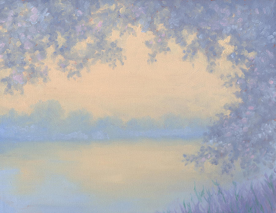 Serene Painting - In The Distance by Diane Martens