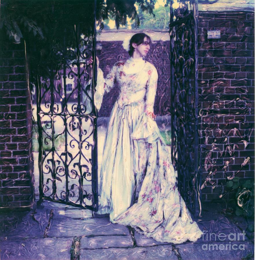 Polaroid Photograph - In The Doorway... by Steven  Godfrey