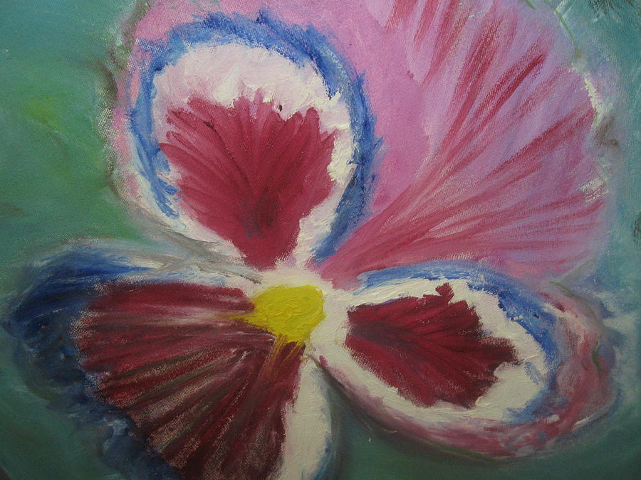Flower Painting - In The Eye Of The Beholder by Paula Andrea Pyle