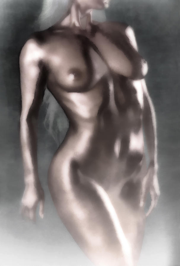 Nude Photograph - In The Fog by Naman Imagery
