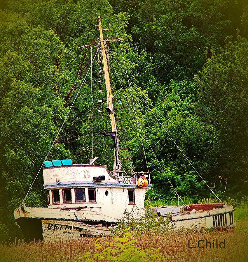 Boats Photograph - In The Garden by Lori Mahaffey