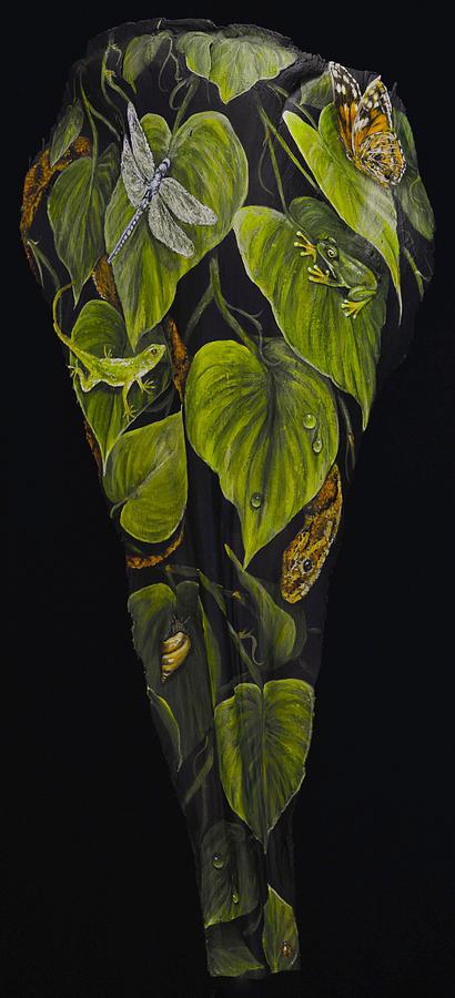 In the Garden by Nancy Lauby