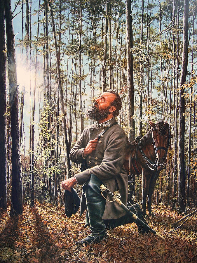 Civil War Painting - In The Hands Of Providence by Dan  Nance