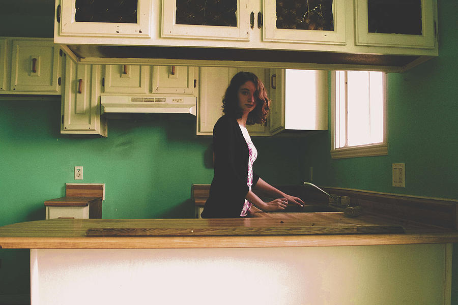 Kitchen Photograph - In The Kitchen by Katherine Gaucher