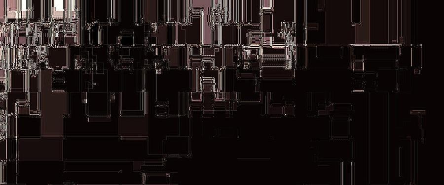 In The Machine Hall Digital Art - In The Machine Hall by Geoff Simmonds