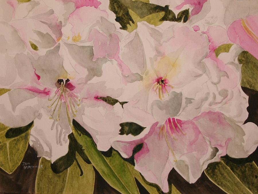 Pink Painting - In The Pink by Jean Blackmer
