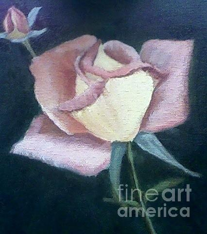 Roses Painting - In The Pink by Joanne Dour