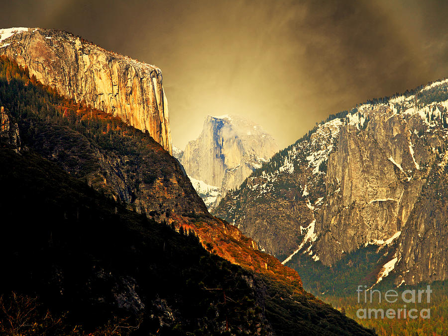 Landscape Photograph - In The Presence Of God by Wingsdomain Art and Photography