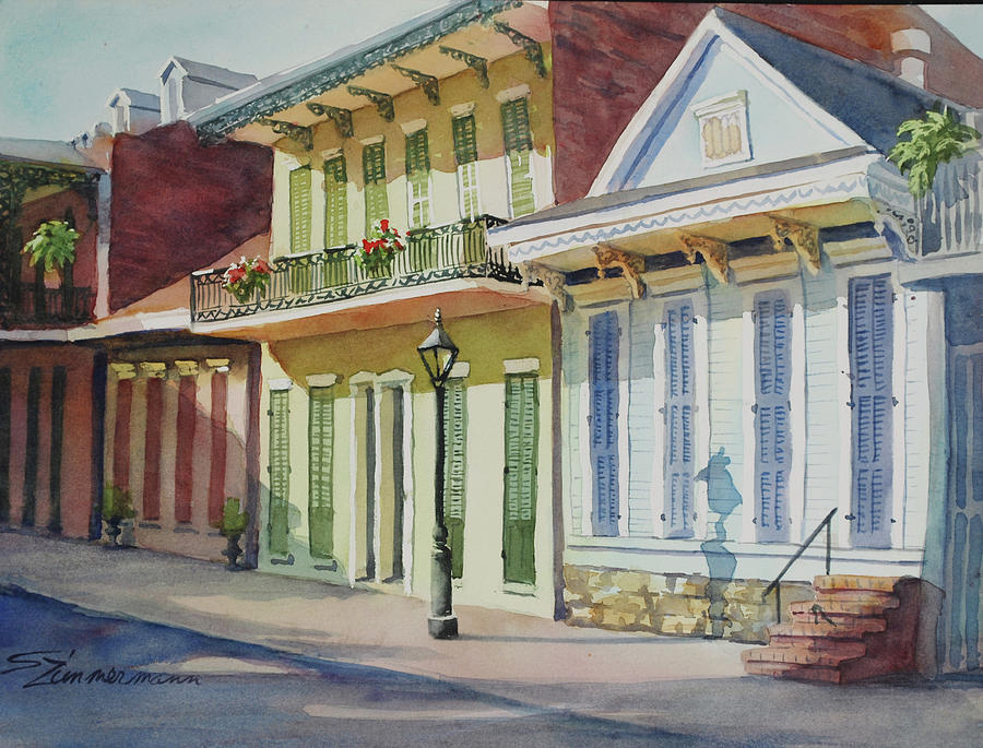 In the Quarter by Sue Zimmermann
