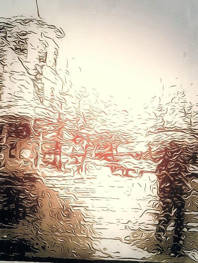 In The Rain Photograph